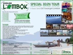 Special 3D2N Lombok Tour
